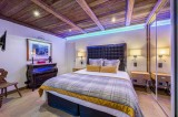 Megève Luxury Rental Chalet Cajuelite Bedroom