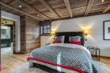 Megève Luxury Rental Chalet Cajuelite Bedroom 3