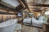 Megève Luxury Rental Chalet Cajuelite Bedroom 7