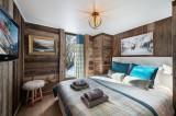 Megève Luxury Rental Chalet Cajuelite Bedroom 8