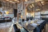 Megève Luxury Rental Chalet Cajuelite Dining Area 2
