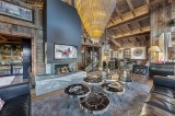 Megève Luxury Rental Chalet Cajuelite Living Area 4