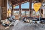 Megève Luxury Rental Chalet Cajuelite Living Area 5