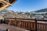 Megève Luxury Rental Chalet Cajuelite Terrace