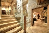 Megève Location Chalet Luxe Diophiris Escalier