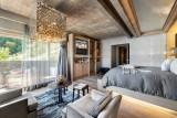 Megève Luxury Rental Chalet Sesamont Bedroom 6