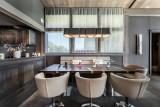 Megève Luxury Rental Chalet Sesamont Dining Area