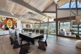 Megève Luxury Rental Chalet Sesamont Dining Area 2