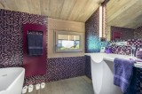Megève Luxury Rental Chalet Sesamont Bathroom