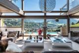 Megève Luxury Rental Chalet Sesamont Living Area 2