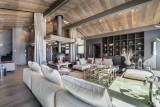 Megève Luxury Rental Chalet Sesamont Living Area 4