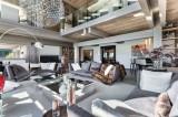 Megève Luxury Rental Chalet Sesamont Living Area 5