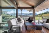 Megève Luxury Rental Chalet Sesamont Terrace