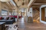Megève Luxury Rental Chalet Sesane Living Room 2
