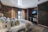 Megève Luxury Rental Chalet Sesanite Bedroom 2