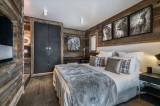 Megève Luxury Rental Chalet Sesanite Bedroom 3