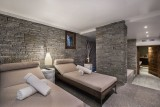 Megève Luxury Rental Chalet Sesanite Relaxing Area