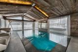Megève Luxury Rental Chalet Sesanite Swimming Pool