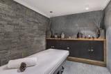 Megève Luxury Rental Chalet Sesanite Massage Room
