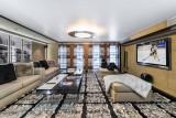 Megève Luxury Rental Chalet Sesanite Tv Room