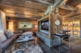 Megève Luxury Rental Chalet Sesanite Tv Room 2