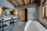Megève Luxury Rental Chalet Sesanity Bathroom