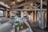 Megève Luxury Rental Chalet Sesanity Living Area 2