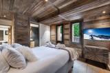 Megève Luxury Rental Chalet Sesune Bedroom