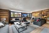 Megève Luxury Rental Chalet Sesune Living Room 2