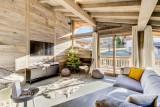 Megève Luxury Rental Chalet Taxo Living Area 3