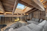 Megève Luxury Rental Chalet Taxodoge Tv Area