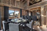 Megève Location Chalet Luxe Taxodoge Salle A Manger