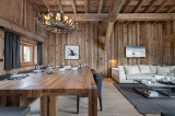 Megève Location Chalet Luxe Taxodoge Salle A Manger 3