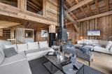 Megève Luxury Rental Chalet Taxodoge Living Area