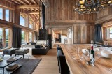 Megève Luxury Rental Chalet Taxodoge Living Area 4