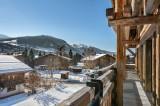 Megève Luxury Rental Chalet Taxodoge Terrace