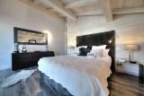 Megève Luxury Rental Chalet Telizite  Bedroom