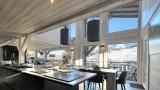 Megève Luxury Rental Chalet Telizite  Kitchen