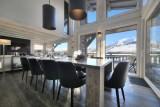 Megève Luxury Rental Chalet Telizite  Dining Area