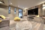 Megève Luxury Rental Chalet Telizite Cinema Room