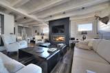 Megève Luxury Rental Chalet Telizite  Living Area 2