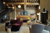 Méribel Luxury Rental Chalet Novaculite Living Room