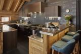 Méribel Location Chalet Luxe Ulumite Cuisine