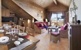 Montgenèvre  Location Appartement Luxe Montana Ruby Salon
