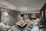 Morzine Luxury Rental Appartment Merlio Living Room 4