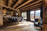 Morzine Location Chalet Luxe Daytonite Table A Manger
