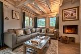 Morzine Luxury Rental Chalet Merlinate Living Room 4