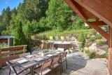 Morzine Luxury Rental Chalet Merlinate Terrace