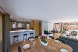 Morzine Luxury Rental Chalet Merline Dining Room 2