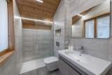 Morzine Luxury Rental Chalet Merline Shower Room